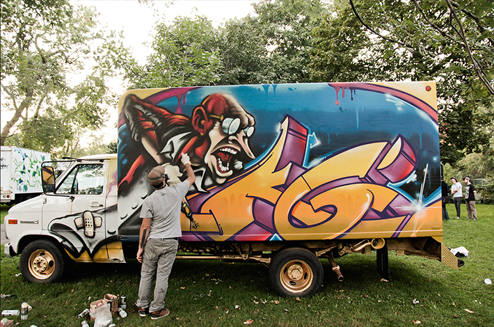Graffiti Truck KG - Hip Hop You Don't Stop